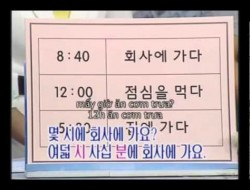 Bài 4: Thời gian – Tiếng Hàn Sơ cấp 1