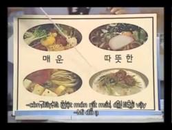 Bài 8: ẩm thực- Tiếng Hàn Sơ cấp 1