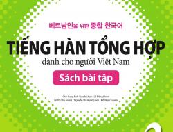 Giáo trình tiếng Hàn tổng hợp dành cho người Việt Nam Trung cấp 3