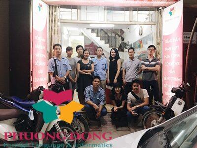 Ngoại ngữ phương Đông vừa hoàn thành khóa học đào tạo tiếng Nhật cho nhân viên khối văn phòng của công ty Yamaha Motor Việt Nam