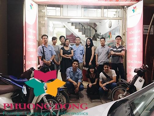 Trung tâm Ngoại ngữ phương Đông đào tạo tiếng nhật cho công ty Yamaha Motor Việt Nam