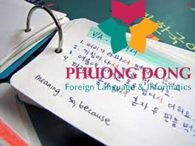 Từ vựng tiếng Hàn