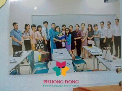 Ngoại ngữ phương Đông đào tạo tiếng Hàn cho nhân viên sân bay Nội Bài