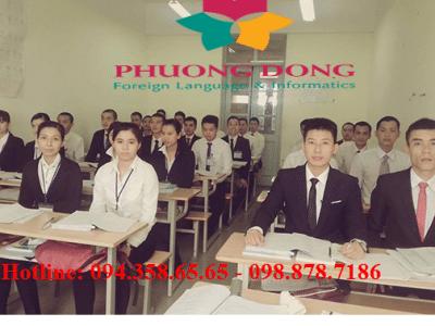 Trung tâm Ngoại ngữ Phương Đông đào tạo tiếng Hàn hợp đồng cho các công ty