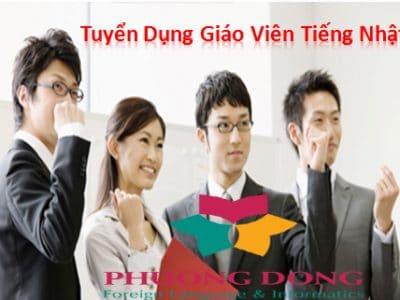 Trung tâm Ngoại ngữ Phương Đông tuyển giáo viên dạy tiếng Nhật