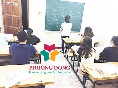 Lớp học tiếng Hàn tại trung tâm Ngoại ngữ Phương Đông