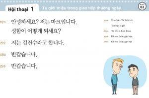 Học ngữ pháp và mẫu câu trong tiếng Hàn