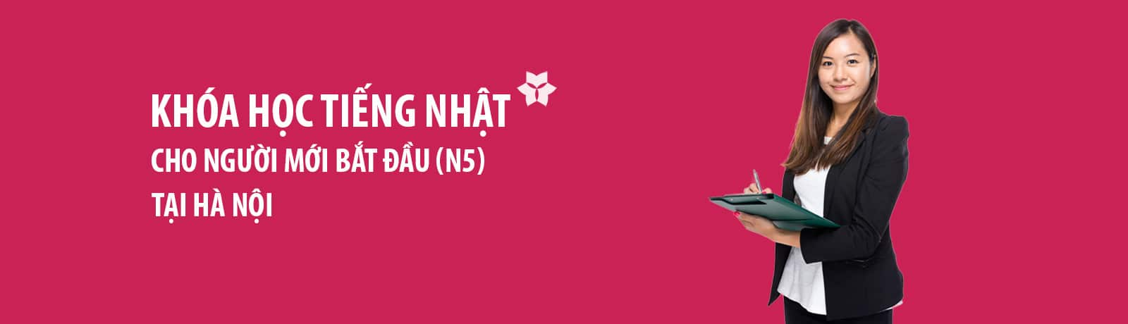 Khóa học tiếng Nhật cho người mới bắt đầu tại Hà Nội