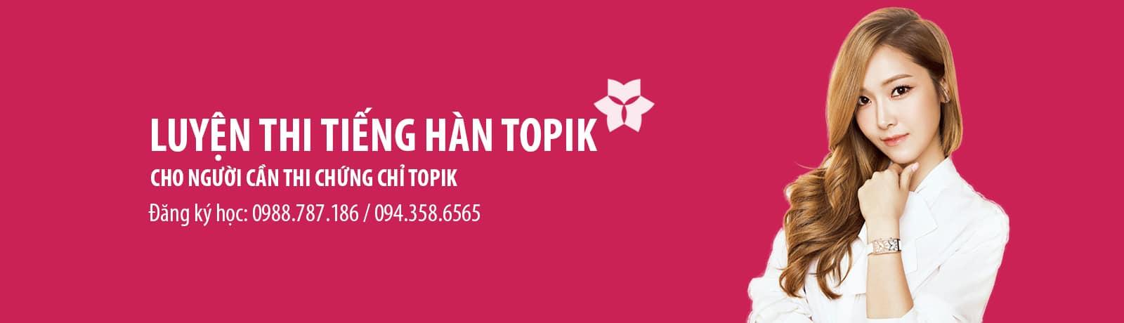 Luyện thi tiếng Hàn TOPIK