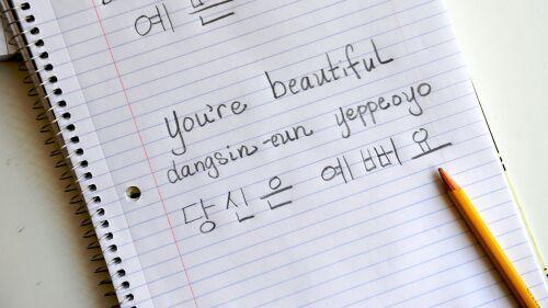 Tìm hiểu và lựa chọn một khóa học tiếng Hàn phù hợp