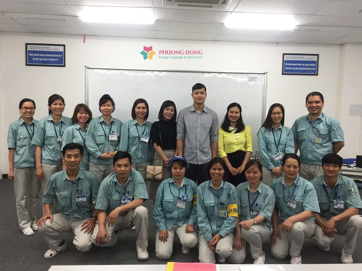 Đào tạo tiếng Hàn cho doanh nghiệp